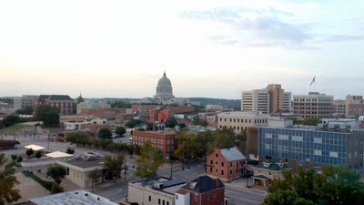 Jefferson City from the 14th Floor