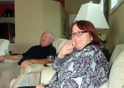 Jim and Nelda Listening to Bob