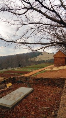 Levy Burial Plot at Monticello