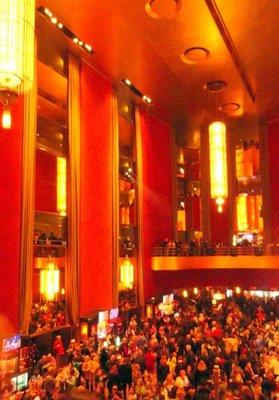 Lobby of Radio City Music Hall