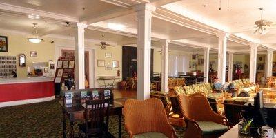 Lobby of the Historic Kenilworth Lodge