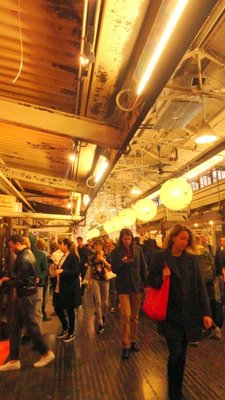Lunchtime at Chelsea Market