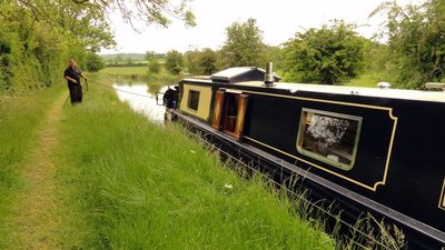 Maiden Voyage for Handmade Barge