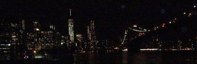 Manhattan and the Brooklyn Bridge