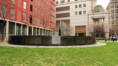 Memorial at Slaves Graveyard
