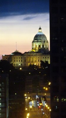 Minnesota Capitol from My Window