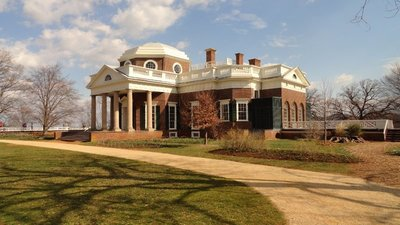 Monticello from the Southwest