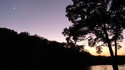 Moon Over Silver Lake