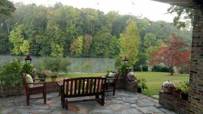Morning Mist on MY Lake