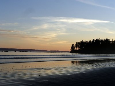 Morning at Sand Beach Campground