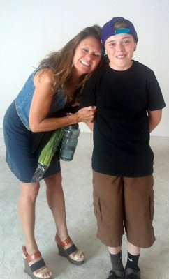 Mother and Son Reunion