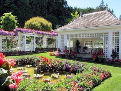 Mrs Butchart's Private Tea Garden