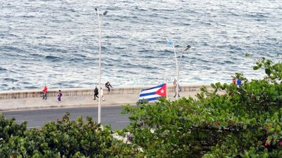 My First View of the Malecon from My Window