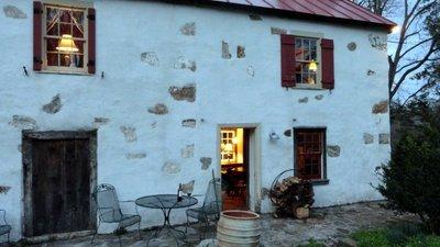 My Springhouse Cottage at Dusk