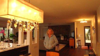 Nancy in Her Long Island Home
