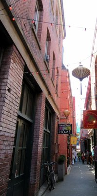 Narrowest Alley in Victoria