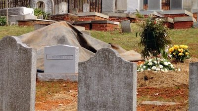 New Graves in Jefferson Cemetery
