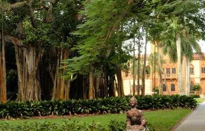 On the Grounds of the Ringling Museum