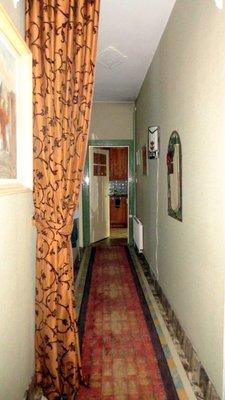 One Half of the Main Floor Hallway