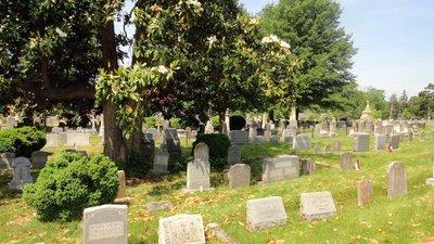 One More Cemetery Scene