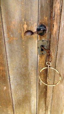 Original Door and Key