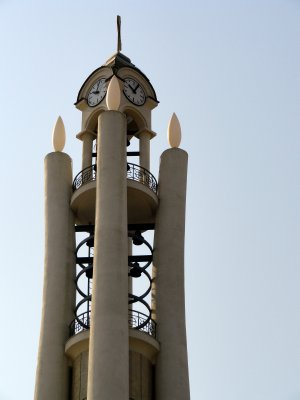 Orthodox clock and bell tower