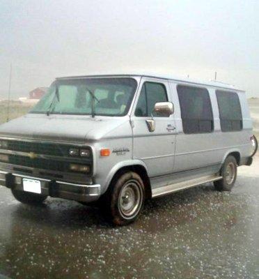 Paula Is in the Van