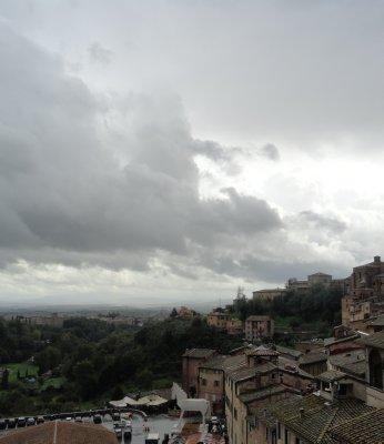 Rainy day in Siena