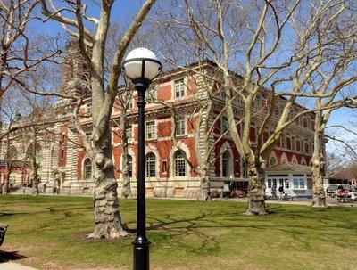Reception Hall on Ellis Island