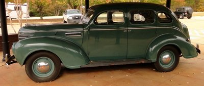 Replica of Presley 1939 Plymouth