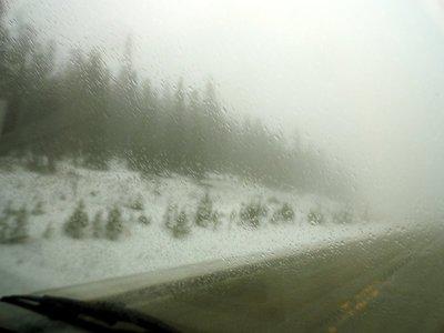 Rocky Mountain Springtime Driving