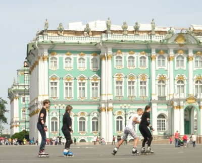 Roller Derby at the Hermitage