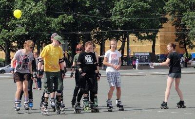 Roller Derby Practice