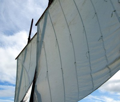 Sailing in the Longboat