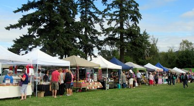 Saturday Market at the Saanich Fairgrounds