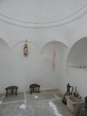 Sauna in 18th C Muslim home