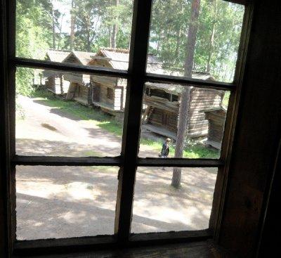 Scene Through the Window