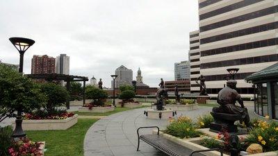 Sculpture Garden on the Grohmann Rooftop