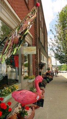 Shops Along Main Street