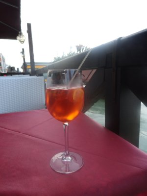 Spritz is an afternoon apertif. Every bar has its specialities