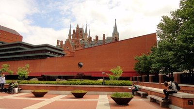 St Pancras and British Library