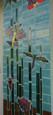 Student Created Wall Mosaic