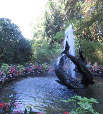 Sturgeon Fountain