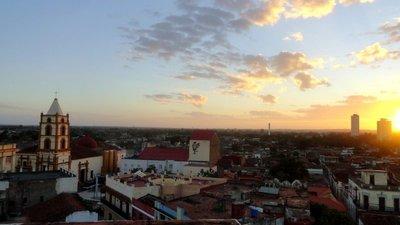 Sunrise over Camaguey