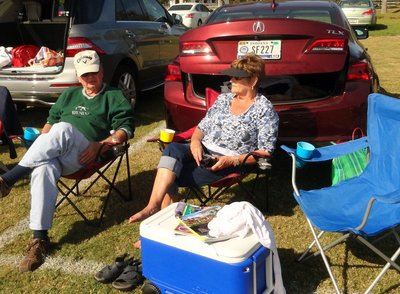 Tailgating at the Polo Match