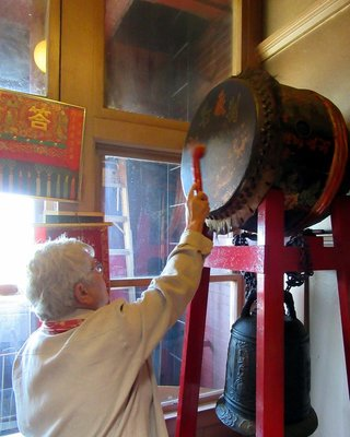Tap the Drum and Strike the Gong