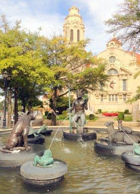 The Storyteller Fountain