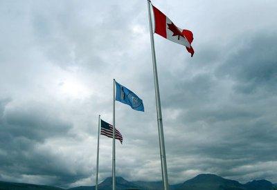 Three Flags Over Glacier-001