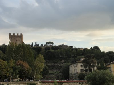 Michangelo Hill from the Arno