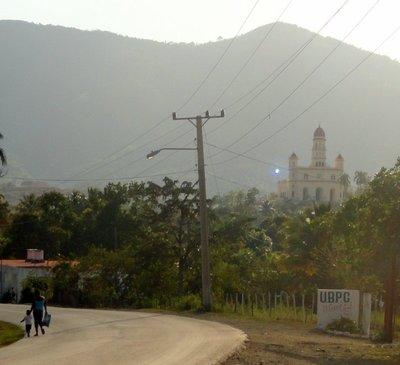 View of the Shrine in El Cobre